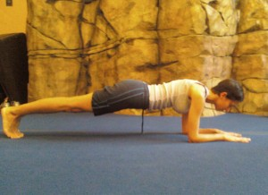The plank is a classic isometric exercise.