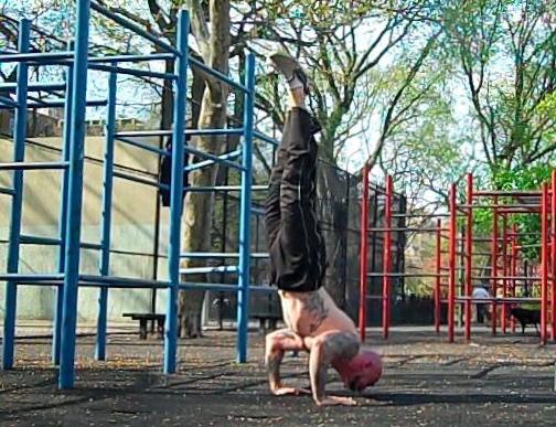 Handstand Push-ups | Al Kavadlo